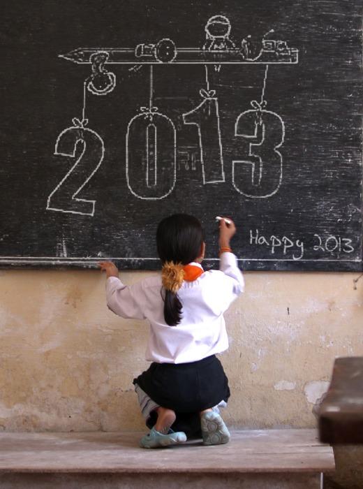 Happy-2013-children-art-beautiful